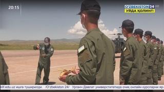 Военные учения курсантов