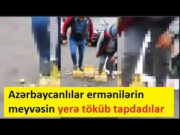 Moskvada Azərbaycanlılar ermənilərin başına baxın görün nə oyun açdılar Tovuzda müharibəyə cavab