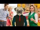 Кароче говоря, поход Давга в КФС в скобочках в бургер кинг анимация