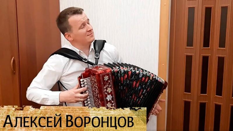 Как по морю, игра на гармони - Алексей Воронцов, с. Красноборск