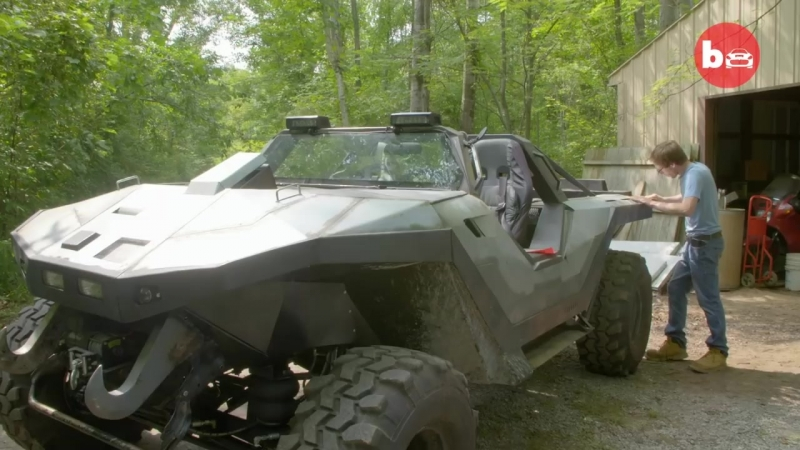 Halo Fan Builds A Real Life Warthog _ RIDICULOUS RIDES
