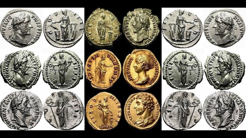 ✅ Монеты Римской Империи, АНТОНИН ПИЙ, Часть 9, 🔝 Coins of the Roman Empire, Antoninus Pius 🌍