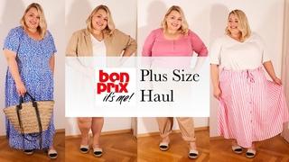 Обувь, купальник и летняя одежда PLUS SIZE BONPRIX || Распаковка и примерка Бонпри