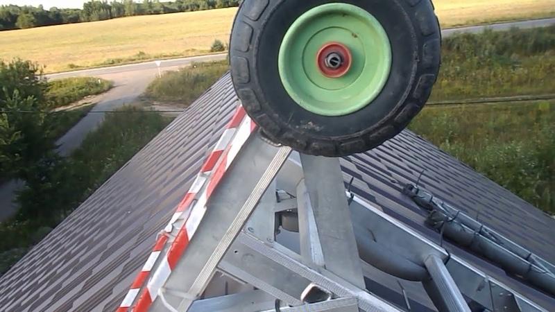 Работа на крыше. Комплект лестниц.Хорз, лонгест, пуш,шот и глист.