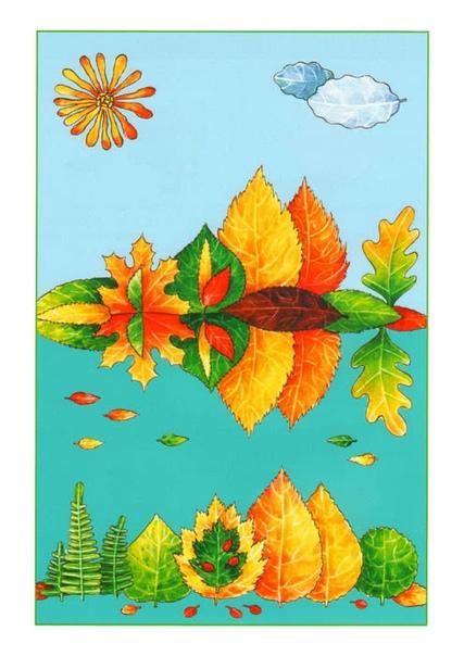 Предлагаю вам интересные идеи из материала - - публикация и детки из листьев. Для и поделок из листьев и другого материала Вам понадобится картон или плотная любая по цвету и фактуре, , Очень
