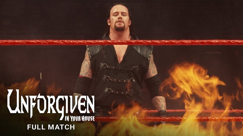 FULL MATCH The Undertaker vs Kane Inferno Match WWE Unforgiven In Your House 1998