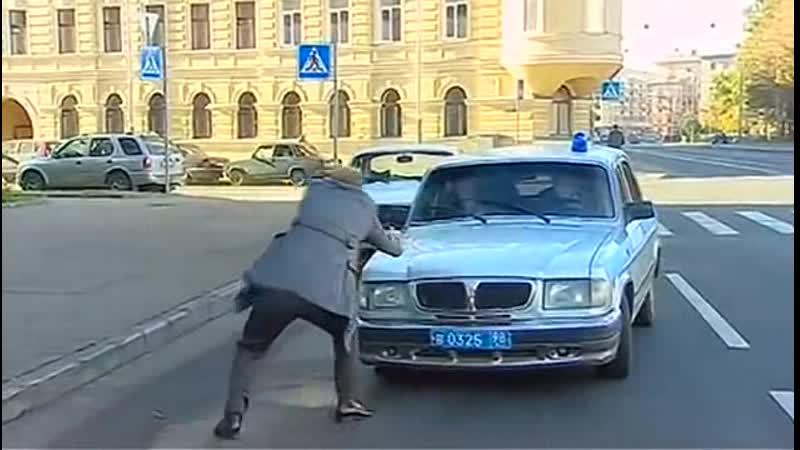 Русский дубль 2010 13 серия car chase scene