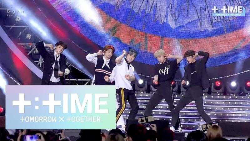 T:TIME 'Cat Dog stage @SBS Super Concert in Gwangju TXT 투모로우바이투게더