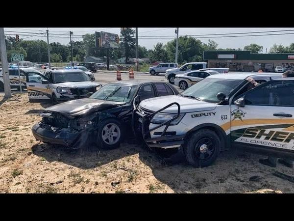Полицейские будни Погони на большой скорости