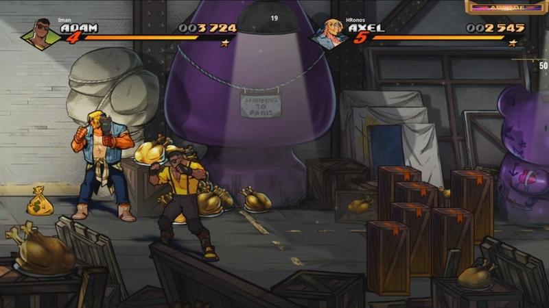 Streets of Rage 4 Встреча с секретным босом Шива и Мистер X стрим IvanIgnat