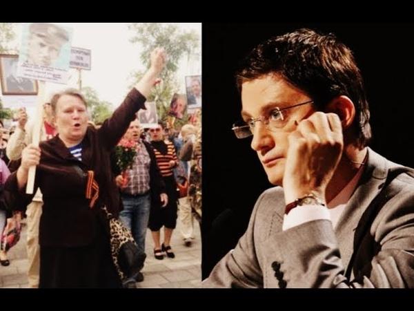 """У путіністів"""" істерика Кондратюк дав їм дзвінкого ляпаса 9 травня окупанти запам'ятають"""