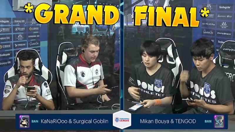 GRAND FINAL TEAM LIQUID VS PONOS SPORTS WCG 2019 Xi'an Clash Royale