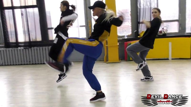 Missy Elliott I'm better Air Max 97 retread choreo by Aleksa Oshurko Devil Dance Studio