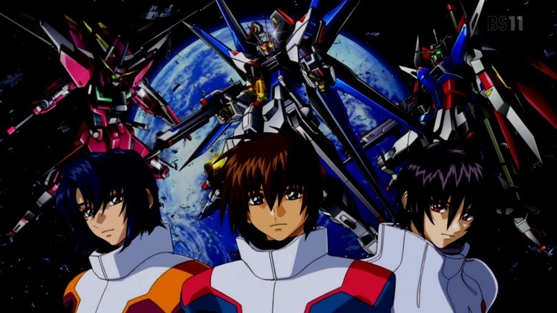 Обзор вселенной Gundam. Часть 9: Gundam SEED Destiny - найди 10 отличий
