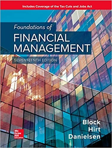 Foundations of Financial Management 17th Edition