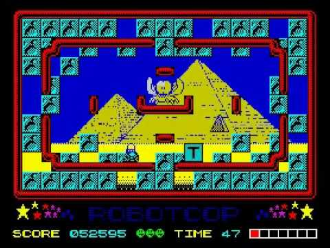 Sergeant Seymour Robot Cop Walkthrough ZX Spectrum