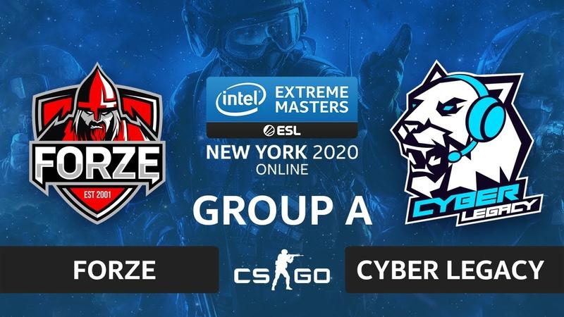 CSGO - forZe vs. Cyber Legacy [Dust2] Map 3 - IEM New York 2020 - Group A - CIS