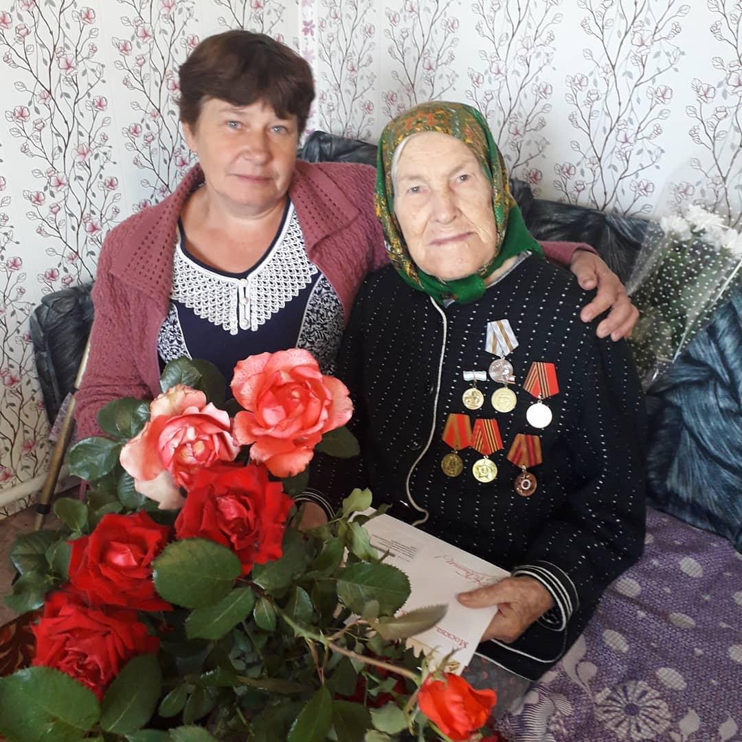 Вчера, 13 сентября, 90-летний юбилей отпраздновала жительница села Новозахаркино Лидия Васильевна КУДЕРОВА
