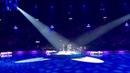 Aloe Blacc, Rebecca Ferguson, Bligg und Bastian Baker am Art on Ice