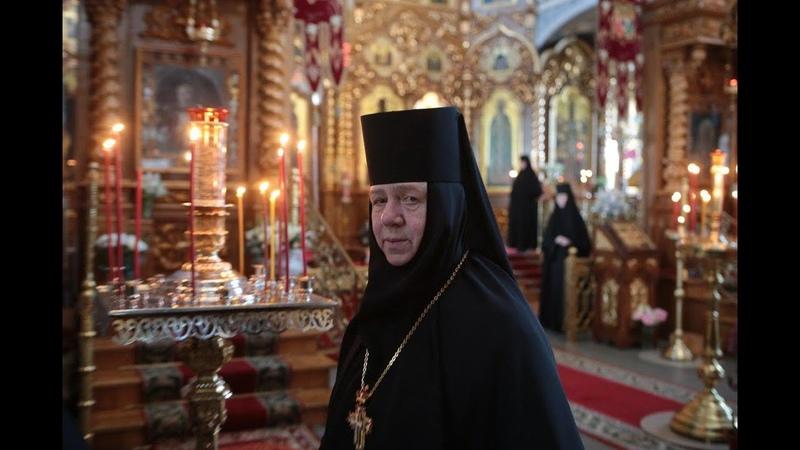 Видеообращение настоятельницы Дивеевского монастыря игумении Сергии Конковой