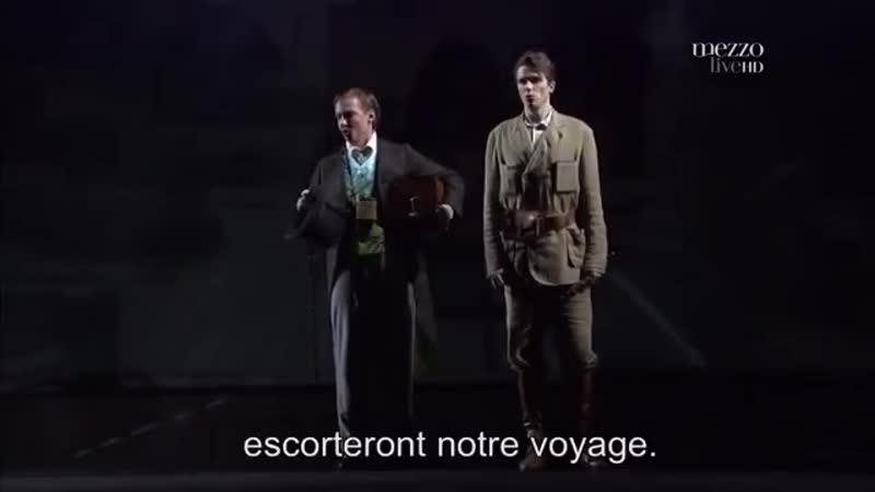 Опера Вольфганга Амадея Моцарта Волшебная флейта постановка королевская бельгийская опера La Monnaie