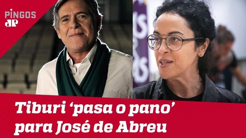 Petista Marcia Tiburi defende Zé de Abreu