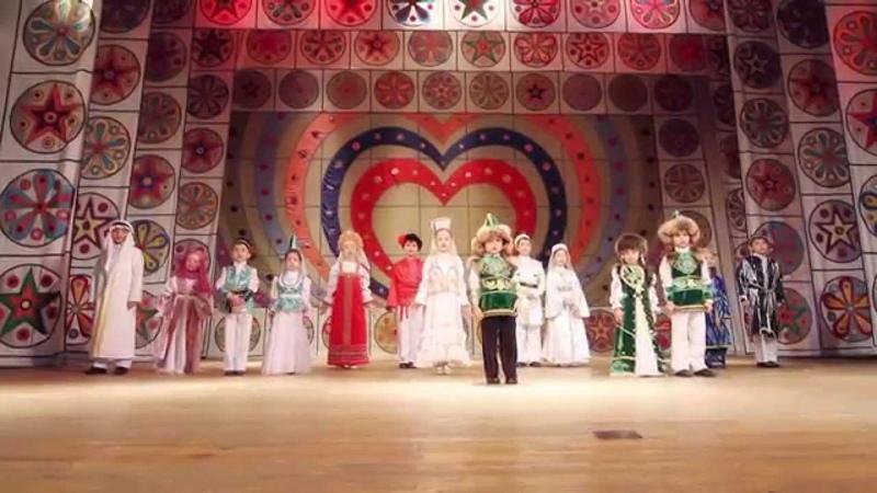 Мусульманский клип ДРУЖБА НАРОДОВ от детской вокальной студии СУЛТАН sultan
