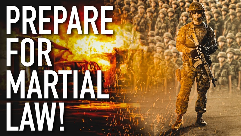 Alert They're Sending 1000s Of Heavily Armed Soldiers For Martial Law 2020 Economic Collapse YouTube