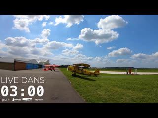 Loulou Players  Music Please Goes Stream #3  Aérodrome de Namur, Temploux, Belgium (28/06/2020)