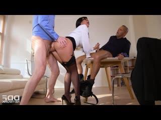 Valentina Ricci - ThreesomeS Risky Business [DP, Anal, Big Tits, Gonzo, Hardcore, Facial]