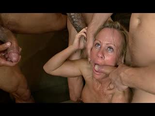 ПОРНО -- ЕЙ ТУТ 42 -- МАМКУ ВЫЕБАЛИ ТОЛПОЙ -- milf porn  GANGBANG --  Simone Sonay
