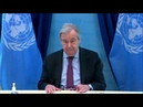 UN Chief: Protection of civilians more challenging than ever - Security Council Open VTC Briefing