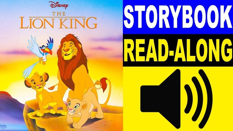The Lion King Read Along Story book   The Lion King Storybook 1   Read Aloud Story Books for Kids