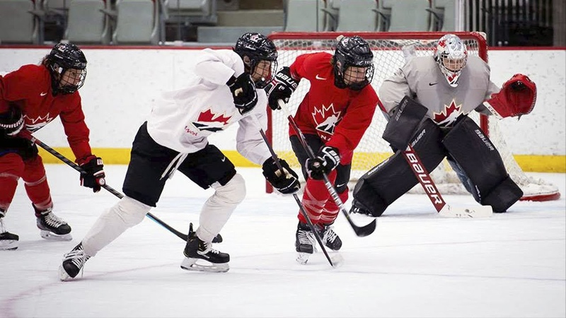 Red vs White Game 1 Highlights | Canada National Women's Team Training Camp 2021