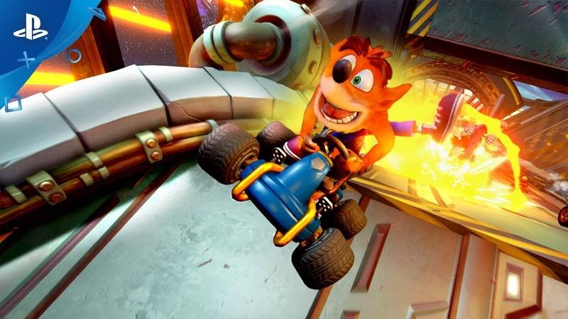 Crash Team Racing Nitro Fueled Launch Trailer PS4