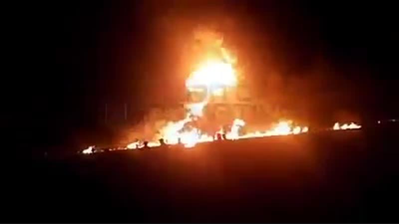 21 человек погиб при взрыве на трубопроводе в Мексике