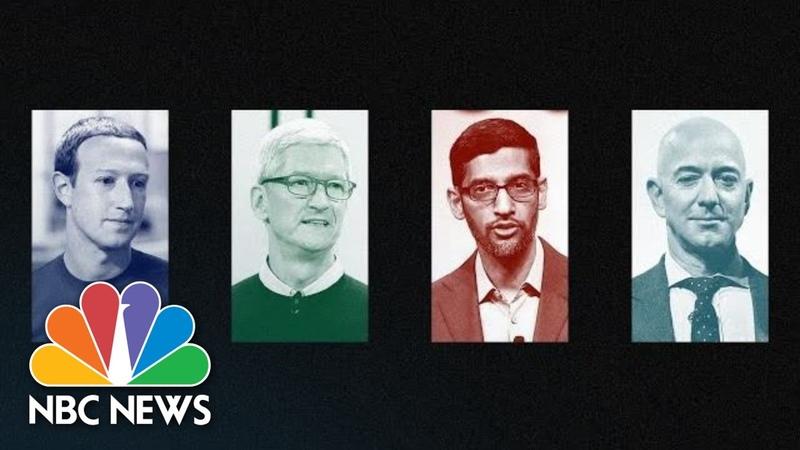 Live Facebook Amazon Apple and Google Executives Testify at House Hearing NBC News