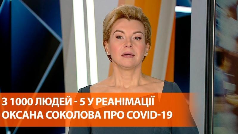 2 новости хорошая и плохая Оксана Соколова про коронавирус