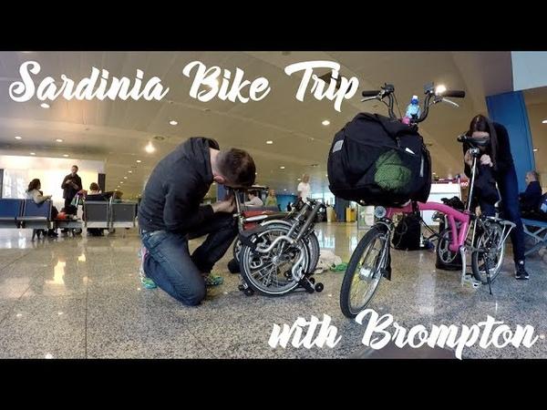 Sardinia Brompton Folding Bike Trip Sardinien Brompton Faltrad Trip