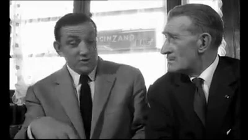 Барбузы секретные агенты Les Barbouzes 1964 режиссер Жорж Лотнер Без перевода