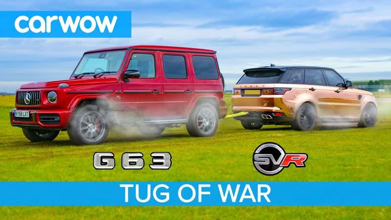 AMG G63 vs Range Rover Sport SVR_ TUG OF WAR - Mat vs Yianni! (2160p_25fps_VP9 LQ-128kbit_AAC)