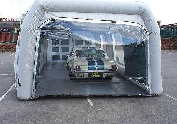 Надувной гараж -