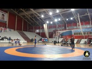 Международный турнир по вольной борьбе до 21 г. Финалы.
