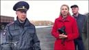 Сотрудники ГИБДД разъясняют правила проезда регулируемого перекрестка Р-255 и шоссе нефтяников