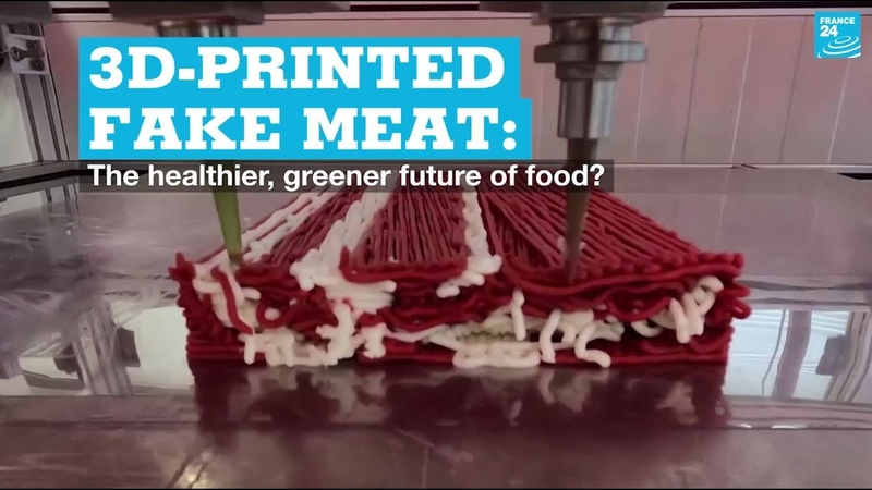3D printed fake meat The healthier greener future of food