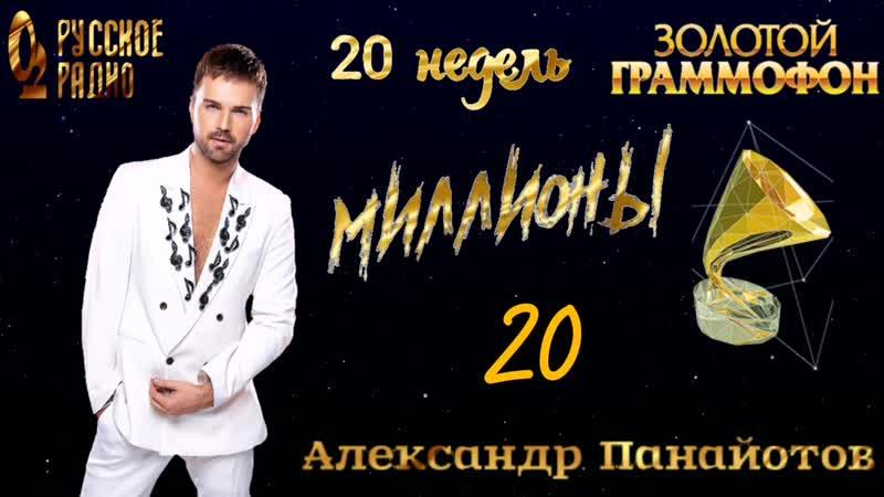 20 недель в хит-параде Русского радио Золотой Граммофон 20 место