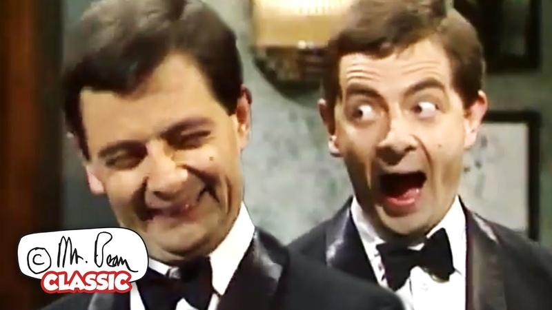 Мистер Бин на царское приветствие Мистер Бин смешные клипы классический Мистер Бин