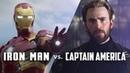 Iron Man vs. Captain America — The Complete Character Arcs