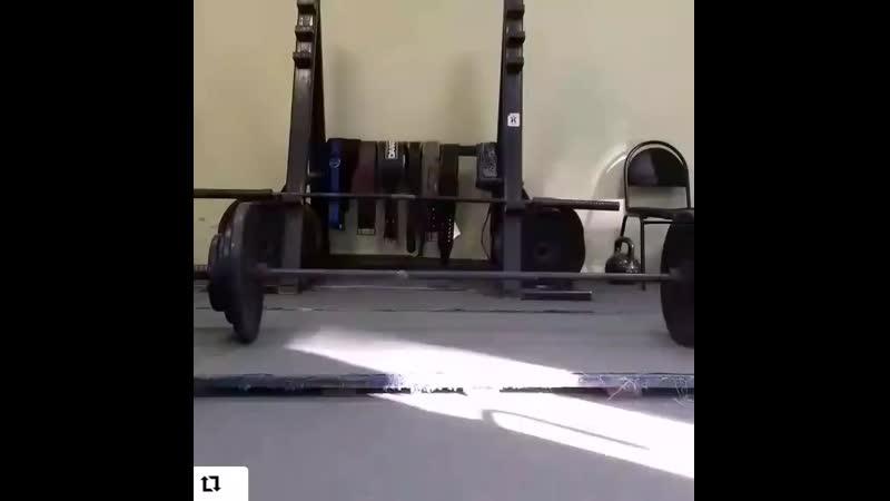 Тренировка 06 02 20 тяга 90 кг Гребенникова Наталья