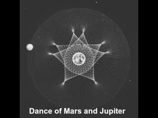 Танец Марса и Юпитера